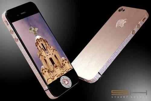 Diamond Rose iPhone - گرانترین گوشی های جهان