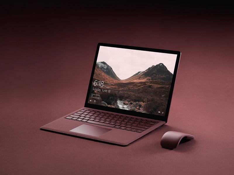 surface laptop 1 - گالری تصاویر مایکروسافت سرفیس لپ تاپ
