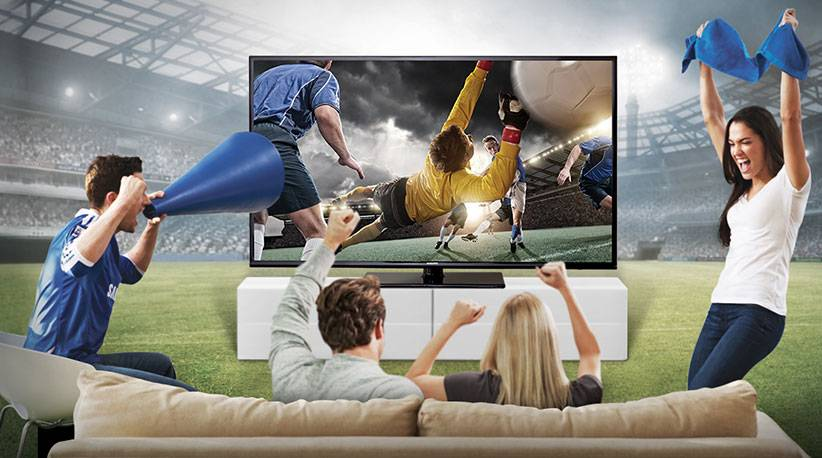 best tv 2018 football - بهترین تلویزیونهای ۲۰۱۸ برای تماشای جام جهانی فوتبال