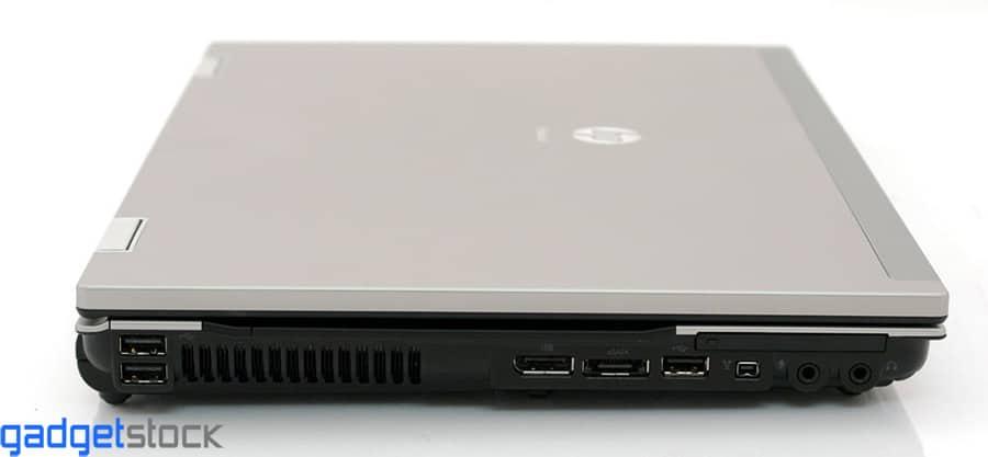 پورت های لپ تاپ استوک hp 8540p